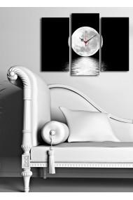 Ceas decorativ de perete(3 articole) Clock Art 228CLA2658 Multicolor
