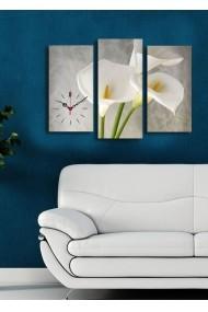 Ceas decorativ de perete(3 articole) Clock Art 228CLA2659 Multicolor