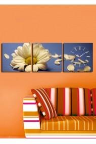 Ceas decorativ de perete(3 articole) Clock Art 228CLA2668 Multicolor