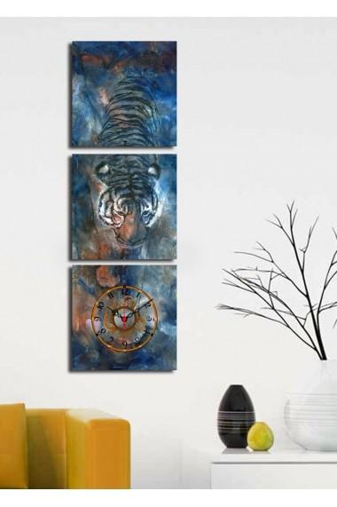 Ceas decorativ de perete(3 articole) Clock Art 228CLA2669 Multicolor