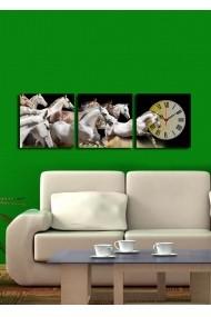 Ceas decorativ de perete(3 articole) Clock Art 228CLA2670 Multicolor