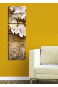 Ceas decorativ de perete(3 articole) Clock Art 228CLA2672 Multicolor