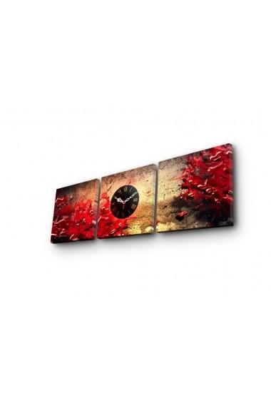 Ceas decorativ de perete(3 articole) Clock Art 228CLA2677 Multicolor