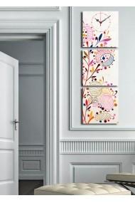 Ceas decorativ de perete(3 articole) Clock Art 228CLA2681 Multicolor