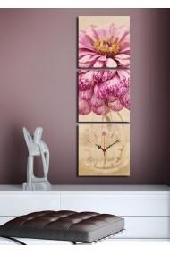 Ceas decorativ de perete(3 articole) Clock Art 228CLA2686 Multicolor