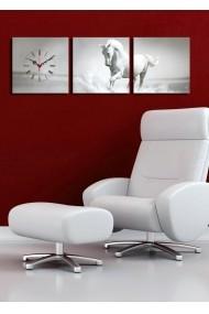 Ceas decorativ de perete(3 articole) Clock Art 228CLA2687 Multicolor