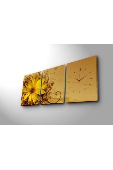 Ceas decorativ de perete(3 articole) Clock Art 228CLA2689 Multicolor