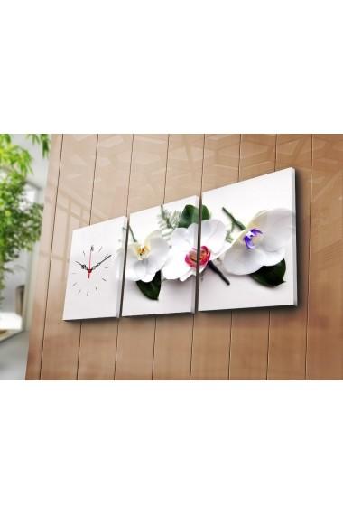 Ceas decorativ de perete(3 articole) Clock Art 228CLA2691 Multicolor