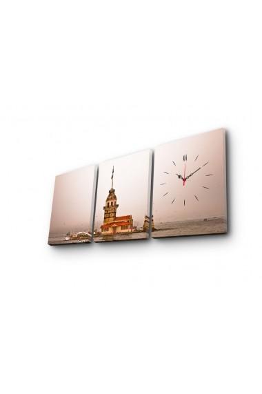 Ceas decorativ de perete(3 articole) Clock Art 228CLA2694 Multicolor