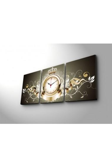 Ceas decorativ de perete(3 articole) Clock Art 228CLA3601 Multicolor