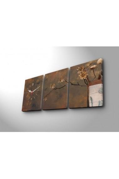 Ceas decorativ de perete(3 articole) Clock Art 228CLA3605 Multicolor