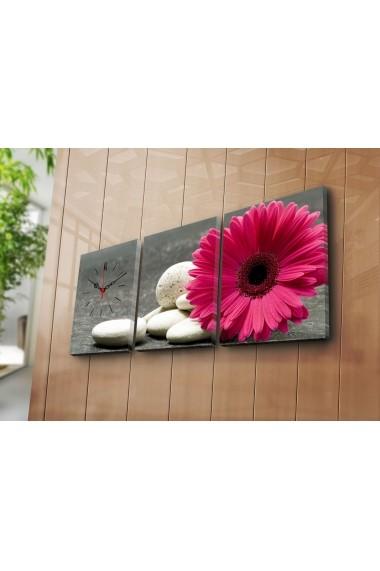Ceas decorativ de perete(3 articole) Clock Art 228CLA3606 Multicolor