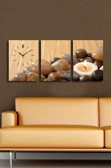 Ceas decorativ de perete(3 articole) Clock Art 228CLA3612 Multicolor
