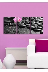 Ceas decorativ de perete(3 articole) Clock Art 228CLA3613 Multicolor