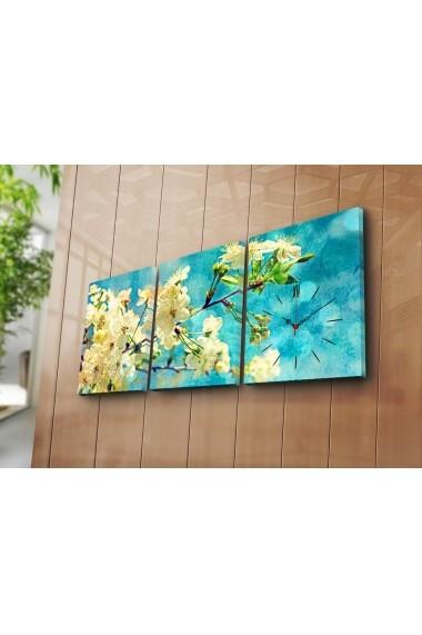 Ceas decorativ de perete(3 articole) Clock Art 228CLA3616 Multicolor