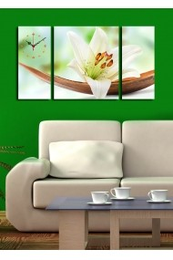 Ceas decorativ de perete(3 articole) Clock Art 228CLA3623 Multicolor