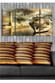 Ceas decorativ de perete(3 articole) Clock Art 228CLA3625 Multicolor