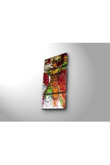 Ceas decorativ de perete(3 articole) Clock Art 228CLA3629 Multicolor