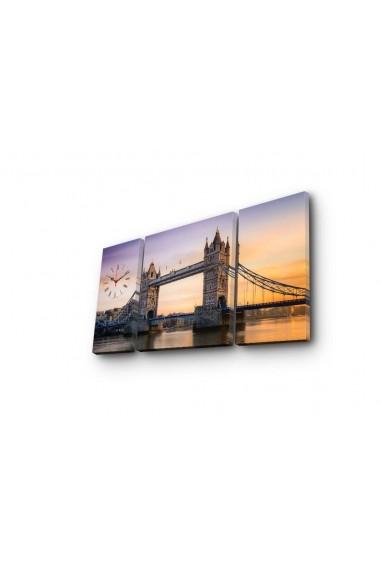 Ceas decorativ de perete(3 articole) Clock Art 228CLA3630 Multicolor