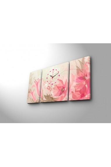 Ceas decorativ de perete(3 articole) Clock Art 228CLA3631 Multicolor