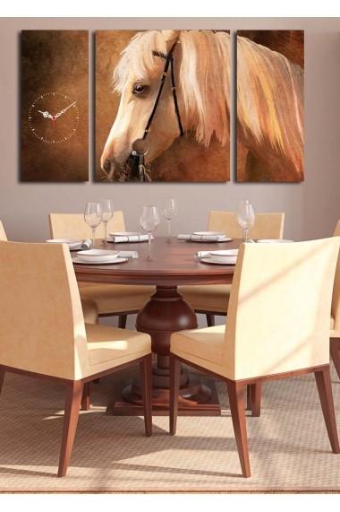 Ceas decorativ de perete(3 articole) Clock Art 228CLA3633 Multicolor
