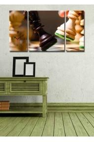 Ceas decorativ de perete(3 articole) Clock Art 228CLA3637 Multicolor