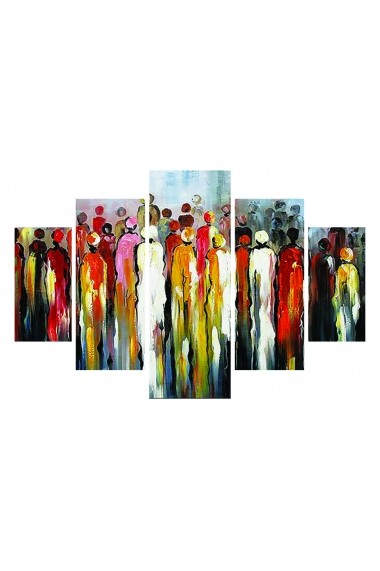 Set tablouri MDF 5 piese Destiny ASR-247DST1908 Multicolor - els