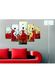 Set tablouri MDF 5 piese Destiny ASR-247DST1923 Multicolor - els