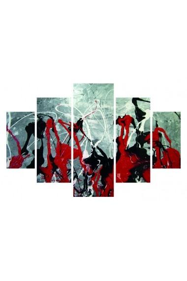 Set tablouri MDF 5 piese Destiny ASR-247DST1982 Multicolor - els