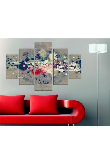 Set tablouri MDF 5 piese Destiny ASR-247DST2909 Multicolor