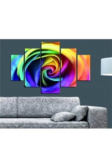 Set tablouri MDF 5 piese Destiny ASR-247DST2913 Multicolor