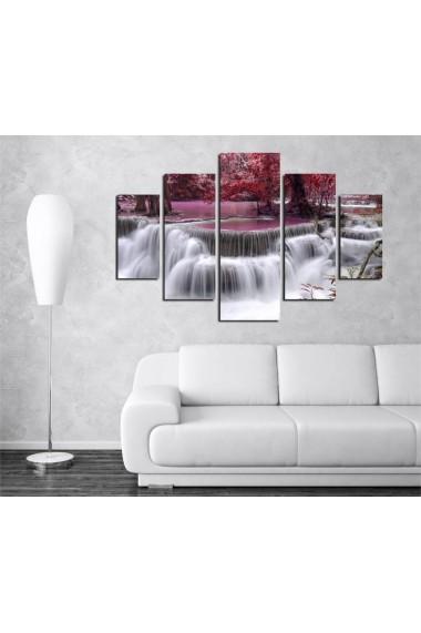 Set tablouri MDF 5 piese Destiny ASR-247DST2927 Multicolor