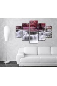 Set tablouri MDF 5 piese Destiny ASR-247DST2927 Multicolor - els