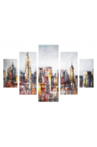 Set tablouri MDF 5 piese Destiny ASR-247DST2940 Multicolor - els