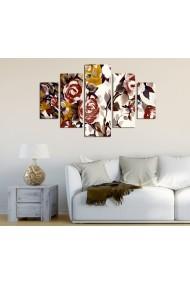 Set tablouri MDF 5 piese ASR-247DST2949 Multicolor - els