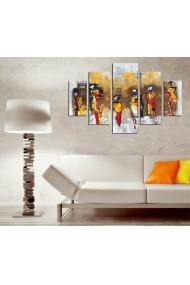 Set tablouri MDF 5 piese ASR-247DST2957 Multicolor