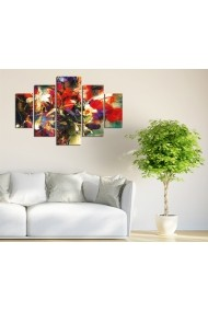 Set tablouri MDF 5 piese ASR-247DST2959 Multicolor