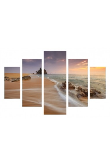 Set tablouri MDF 5 piese ASR-247DST2966 Multicolor - els