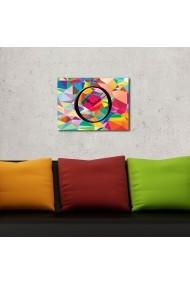 Ceas decorativ de perete Clockity ASR-248CTY1602 Multicolor