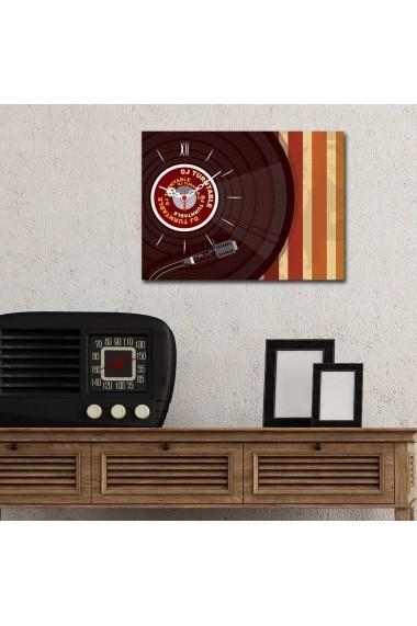 Ceas decorativ de perete Clockity ASR-248CTY1604 Multicolor