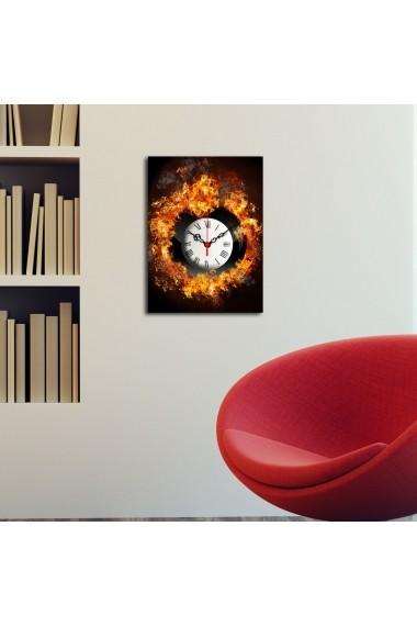 Ceas decorativ de perete Clockity ASR-248CTY1606 Multicolor