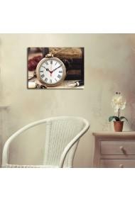 Ceas decorativ de perete Clockity ASR-248CTY1608 Multicolor