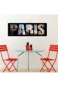 Ceas decorativ de perete Clockity ASR-248CTY1626 Multicolor