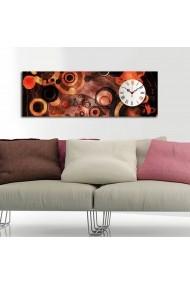 Ceas decorativ de perete Clockity ASR-248CTY1627 Multicolor