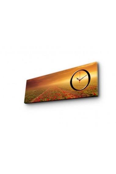 Ceas decorativ de perete Clockity ASR-248CTY1628 Multicolor