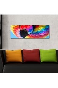 Ceas decorativ de perete Clockity ASR-248CTY1631 Multicolor