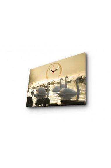 Ceas decorativ de perete Clockity ASR-248CTY1634 Multicolor - els