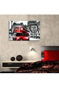 Ceas decorativ de perete Clockity ASR-248CTY1635 Multicolor