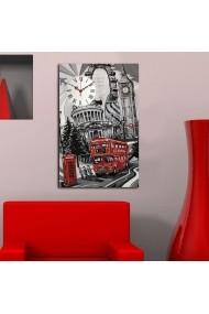 Ceas decorativ de perete Clockity ASR-248CTY1637 Multicolor
