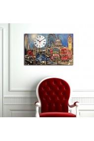 Ceas decorativ de perete Clockity ASR-248CTY1638 Multicolor
